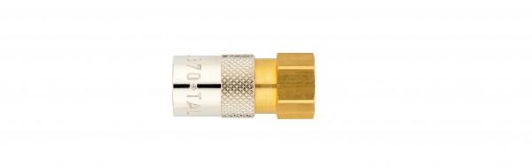 Temperierkupplung mit Innengewinde TI951/4 OV